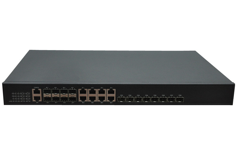 8port  EPON OLT 1U Rack