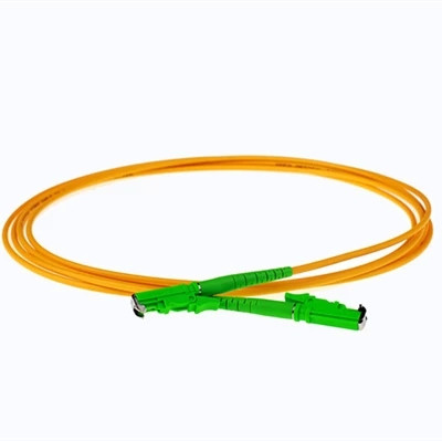 E2000/APC to E2000/APC 9/125  Simplex Single-Mode Fiber Optic Patch Cord,Fiber Optic Patch Cables