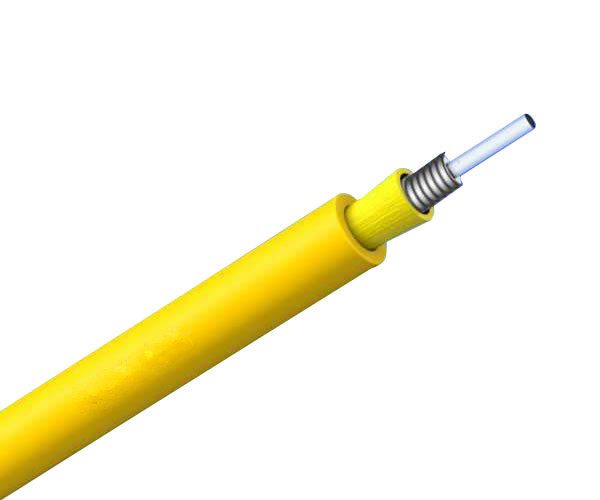 GJFJV Single-fiber armored Indoor cable fiber optic cable