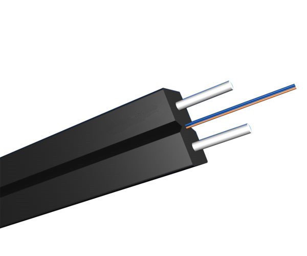 2 Fibers Single-mode Metal Strength member LSZH FTTH Indoor Cable-GJXH