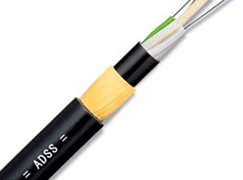12 Fibers Single-mode Stranded Loose Tube Type PE Sheath ADSS Cable-Span 100M