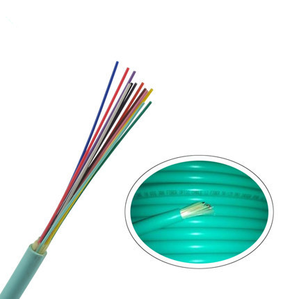 24 Fibers 10G OM3 50/125μm Multimode Multi-Core Tight Buffered LSZH Distribution Indoor Cable-GJFJV