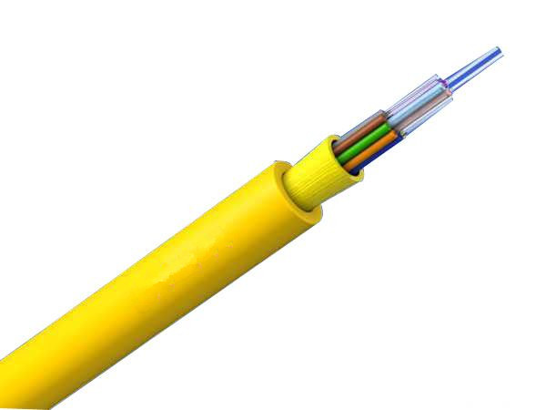 12 Fibers 9/125μm Single-mode Multi-Core Tight Buffered Riser Distribution Indoor Fiber optic  Cable-GJFJV