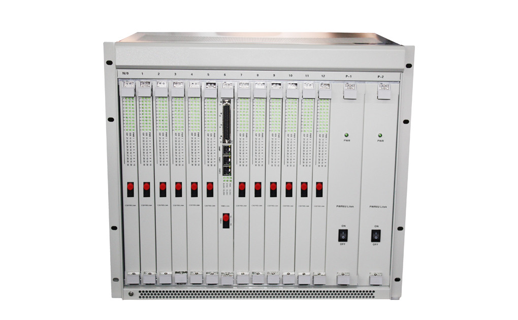 360 phone rack FXO/FXS PCM Voice Multiplexer Over Optical Fiber  for voice multiplexer device