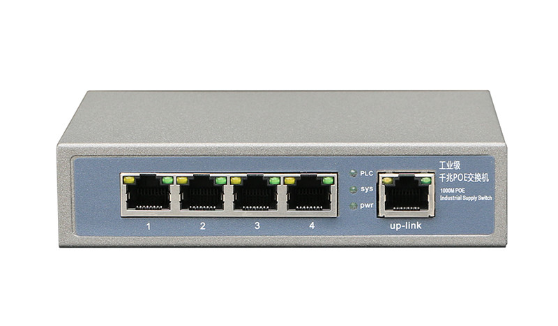 5 Port Enhanced&FE/GE POE Switch